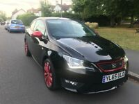 65 PLATE SEAT IBIZA FR RED / BLACK EDITION 15,000 MILES IMMACULATE CONDITION