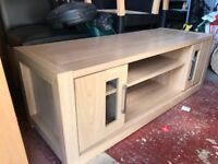 Large tv unit, can be used with up to a 50 inch television.