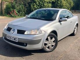 Renault MEGANE Convertible 1.6 Petrol 2005 for sale £990 ONO