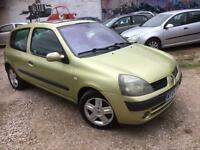RENAULT CLIO 1.5 DCI DIESEL MOT S/HISTORY CHEAP ROAD TAX £850
