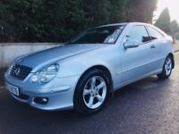 Mercedes C200 Cdi Diesel Auto Coupe - audi a3 a4 a5 bmw 320d vw scirocco golf ford focus astra mini