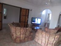 The Gambia, superior villa in popular tourist area.