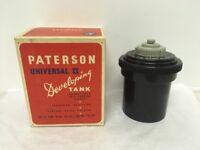 DARKROOM KIT – includes Paterson Universal 2 DEVELOPING TANK, flasks etc – film processing bits
