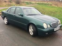 Merc e class 220 classic amg alloys air con working 75% tyres mot late July great runner