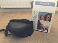 Hippychick hipseat in black