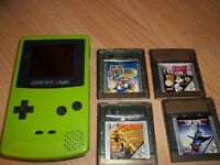 Game Boy Colour plus games