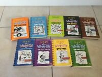 Diary of a Wimpy Kid 9 books