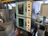 TOM CHANDLEY TWIN FAN CONVECTION OVEN CATERING COMMERCIAL KITCHEN FAST FOOD RESTAURANT BBQ BAKERY