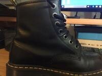 Woman's size 5 industrial steel toe doc martens