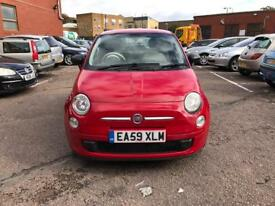 Fiat 500 1.3 petrol 2009 with Mot