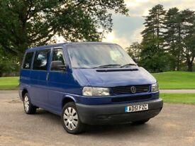 2002 Vw Caravelle 2.5 Tdi 9 Seater Air con Similar Transit Vito Transporter Ideal Camper Van