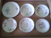 British antique plates