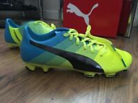 Size 8 Puma EvoPower 2.3 Firm Ground Football Boots. Brand new.