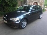 BMW 116i 4 Door Hatchback with MOT manual 1.6 petrol car