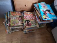 Large collection Beano and Dandy, weeklies, annuals and specials