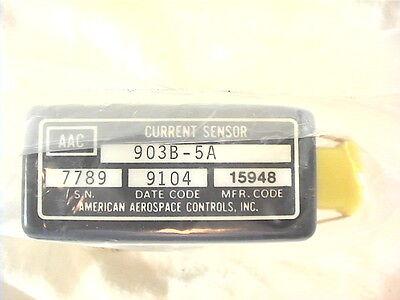 1 New American Aerospace Controls Dc Current Sensor 903b-5a 5a Dc Current 0-5vdc