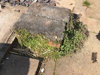FREE Old bricks/broken kerb stone etc FREE