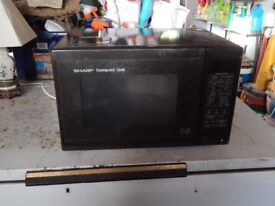 Sharp compact grill microwave