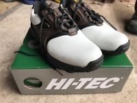 Ladies Hi-Tec Golf Shoes size 5.