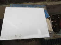 WHITE WALL TILES X 33 SIZE 250 X 200MM ORIGINALLY FROM WICKES
