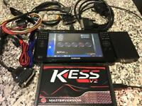 Remapping and diagnostics tablet