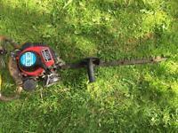 Kawasaki hedge trimmer plus stlhl chainsaw