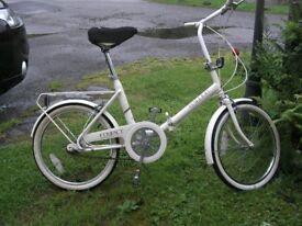 RALIEGH FOLDING BICYCLE