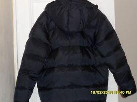 mens Kappa puffer jacket large