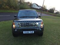 LAND ROVER DISCOVERY 3 , MANUAL 6 SPEED GEAR BOX DRIVE SUPERB ,7 SEATER WITH ELECTRIC TOW BAR
