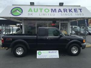 2004 Ford Ranger FX4 SuperCab 4WD 5 SPD. MANUAL