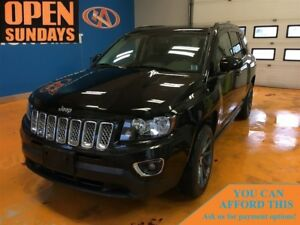 2016 Jeep Compass HIGH ALTITUDE! LEATHER! SUNROOF!