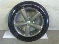 ALLOYS X 4 OF 20 INCH GENUINE AUDI Q7 5 SPOKE S/LINE FULLY POWDERCOATED IN A STUNNING GRAPHITE NICE
