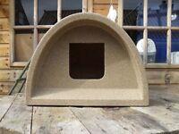 Outdoor plastic cat kennel