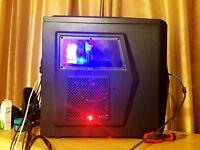 Fast Gaming Desktop PC - i3-6320 3.90GHz Cooled - 16GB DDR4 200GB SSD - 1TB - GTX 960 - 5.1 Speaker