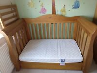 Royale sleigh Boori cot bed
