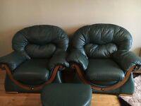 LOVELY 3 + 2 SEATER SOFERS IN VERY GOOD CONDITION
