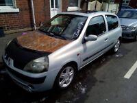 2002 Renault Clio 1.2 16v **SWAPS**