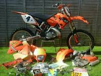 KTM 200 exc (2000) with log book