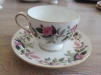 Wedge wood bone China tea set