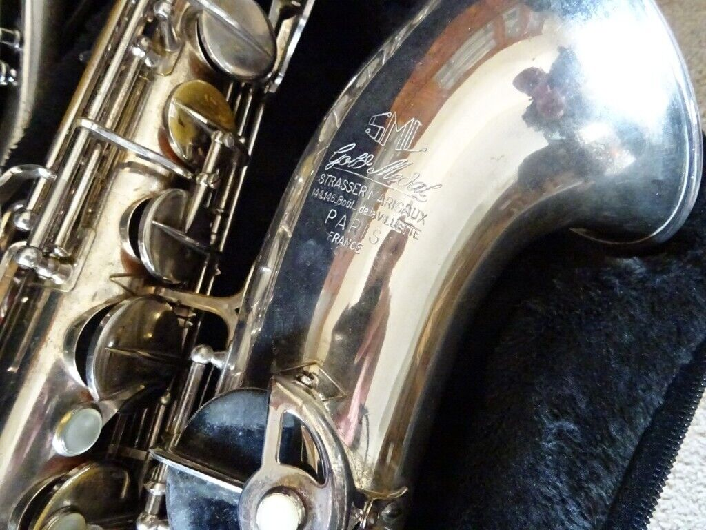1962 SML GOLD MEDAL TENOR SAX, SILVER FINISH, ORIGINAL LACQUER | in Lytham  St Annes, Lancashire | Gumtree