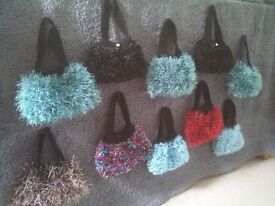 Handmade mini handbags