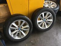BMW 5 series F10 alloys with tyres