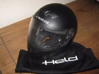 HELD MOTORBIKE HELMET AS NEW CONDITION SIZE SMALL