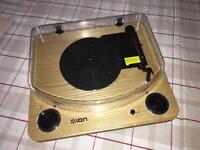 ION MAX LP Turntable (with built in speakers)