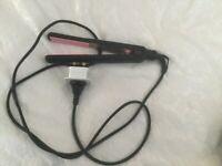 Hair Straightener/Curler Unixhair Ceramic Iron