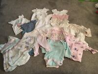 Baby Girls Clothes Bundle - 0-3 size