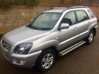 KIA SPORTAGE SILVER DIESEL AUTOMATIC 4x4 ONLY 75K MILES LEATHER INTERIOR 2009