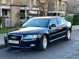 2008 AUDI A8 3.O QUATTRO FULL SERVICE HISTORY PX PATHFINDER/DISCOVERY 3