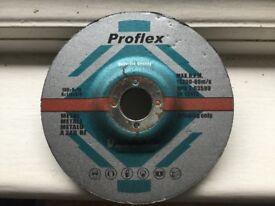 Proflex metal grinding disc/wheels 100mm diameter