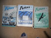 Flight and the aircraft engineer magazines 1942 over 50 magazines